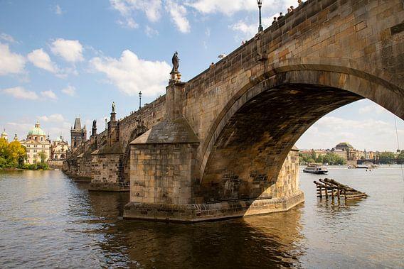 De Karelsbrug over de Moldau