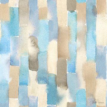 Soft Shores Pattern III, Beth Grove van Wild Apple