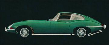 Jaguar E-Type 1960 zijaanzicht