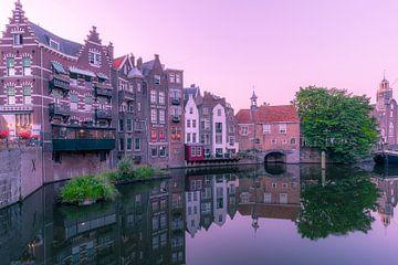 Sonnenaufgang Historisches Delfshaven von AdV Photography