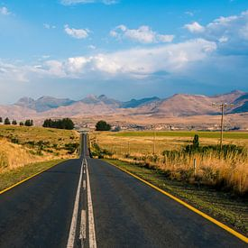 Clarens, Zuid Afrika van Thomas Bartelds