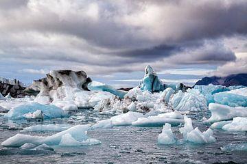 iceberg lac Jökulsárlón sur Cor de Bruijn