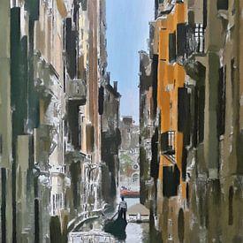 Venetië - Italië van Schildersatelier van der Ven