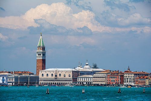 Venetië met prachtig wolkendek