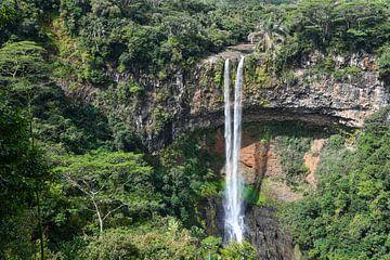 Waterfall Mauritius van Robert Styppa