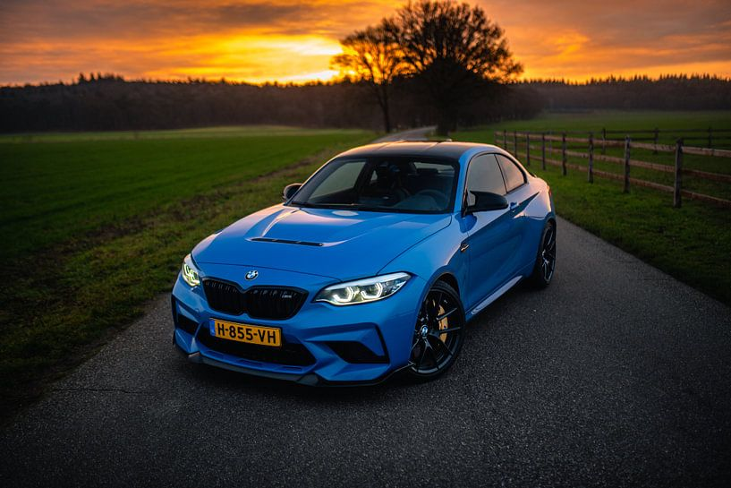 BMW M2 CS Zonsopkomst van Jarno Lammers