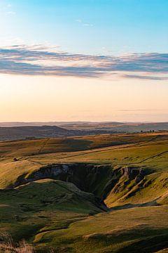 England - Hügel im Peak Disctrict von Marco Scheurink