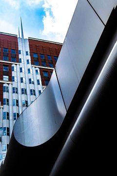 architectuur 2 Den Haag, Nederland van Corrie Heesbeen