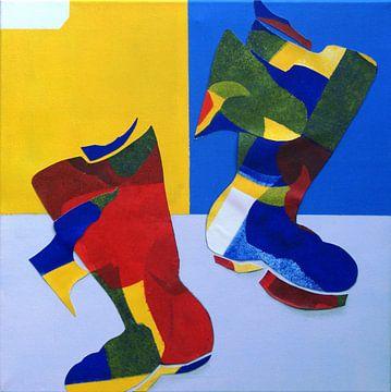 Dancing Boots van Marianne de Groot