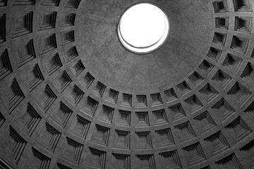 Pantheon Rome BW von Geert Groot