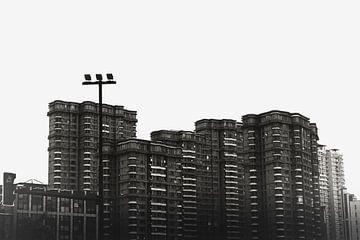 Gebäude in Shanghai. von Erik Juffermans