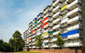 flatgebouw, Limburg van Joep Deumes