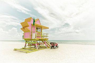 MIAMI BEACH Florida Flair | Vintage von Melanie Viola