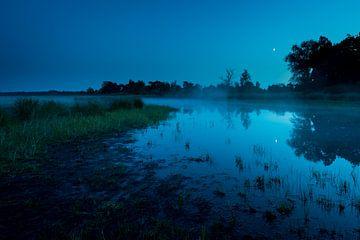 Mistige morgen van Jouke Wijnstra Fotografie