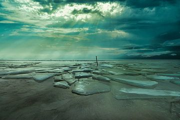 Wolkenstralen van peterheinspictures