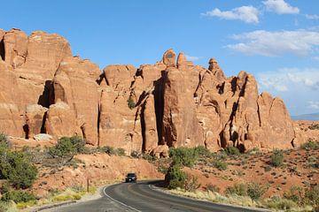 Arches Nationaal Park Verenigde Staten von Martin van den Berg Mandy Steehouwer