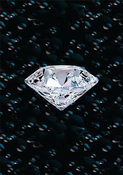 diamond in de ruimte van Gerrit Neuteboom