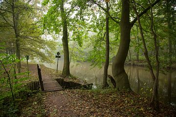 Het jaagpad langs de Kromme Rijn