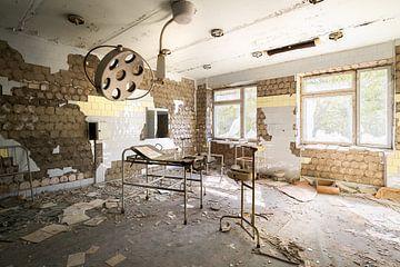 Hôpital de Pripyat - Tchernobyl. sur Roman Robroek