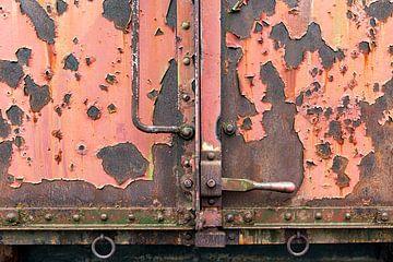 Nahaufnahme Güterwagen I von Evert Jan Luchies