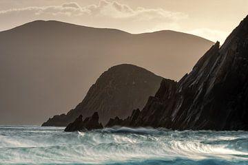 Wellen im Abendlicht von Markus Stauffer
