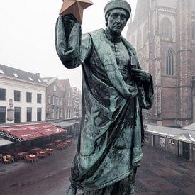 Haarlem: Lautje met cultuurster van Olaf Kramer