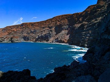 Felsenstrand La Isla Bonita von Stoka Stolk