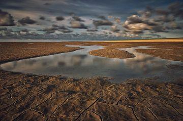 Het verlaten water; eb von Remco de Vries