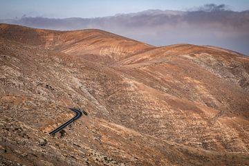 Weg in de bergen van Pierre Verhoeven