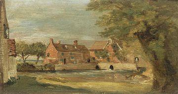 Flatford Mill, John Constable sur