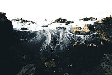 Zwart Zand Strand van