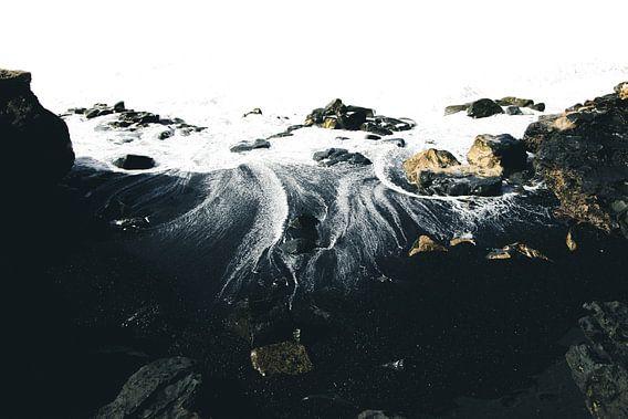Zwart Zand Strand van Tomas Grootveld