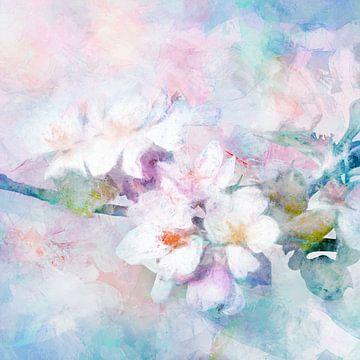 Blossom blue von Andreas Wemmje