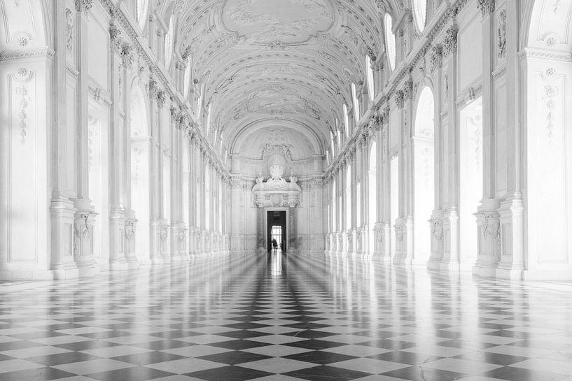 Galleria Grande, Palazzo Venaria Reale van Jan Sluijter