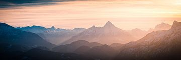 Alpen Panorama van Martin Wasilewski