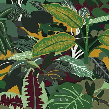 Jungle safari i, Megan Gallagher van Wild Apple