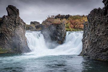 Hjálparfoss, Island von Fenna Duin-Huizing