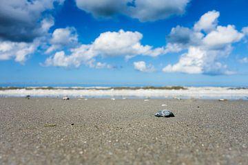 Het strand van Ameland van Thea.Photo