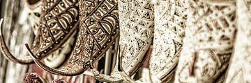 Arabische Schuhe von Uwe Merkel