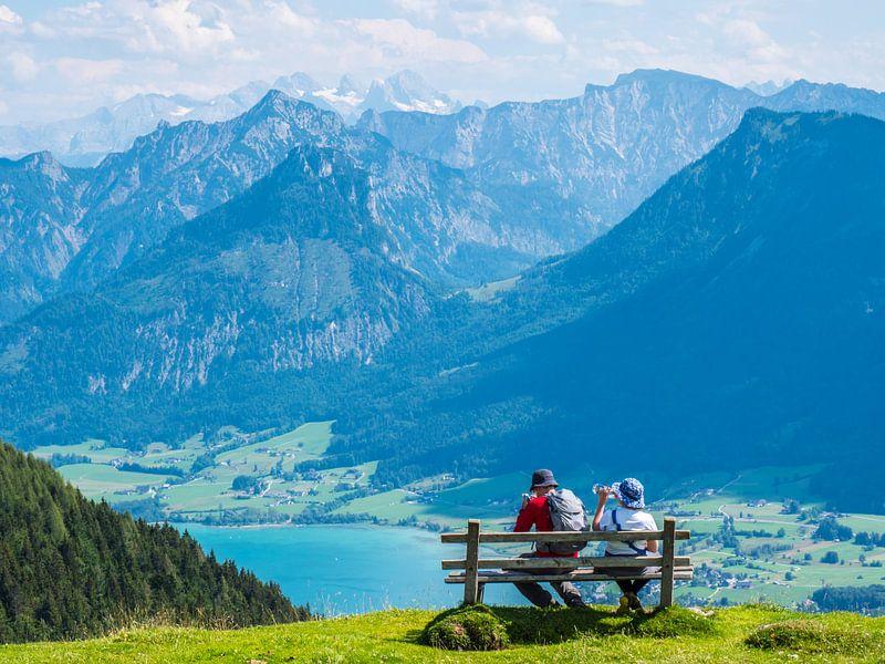 Toerisme aan de Mondsee in het Salzsalzkammergut van Animaflora PicsStock