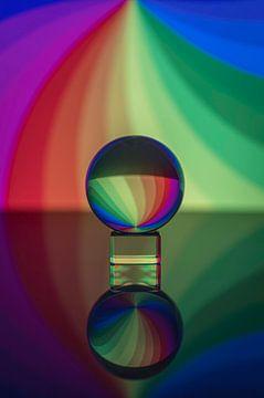 Kristallen bol van Melien Suranno