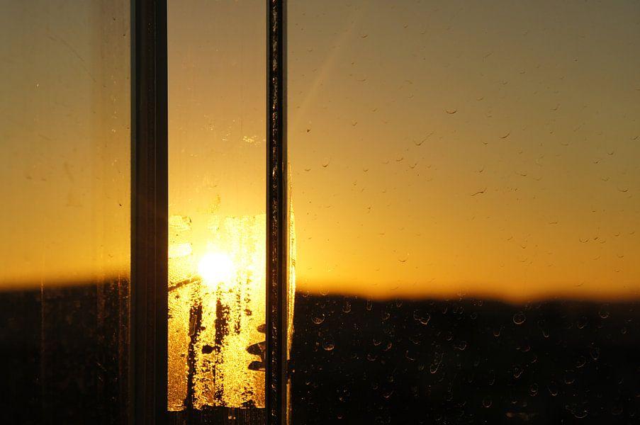 Sunset in Athens.  von Tina Hartung