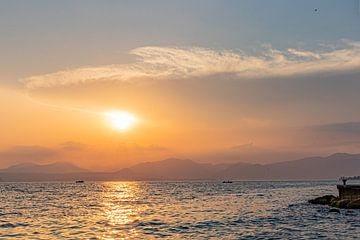 Sonnenuntergang von Johan Mooibroek