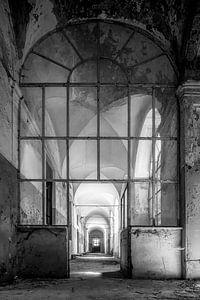 Cloître abandonné