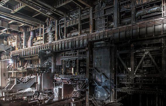 Oude verlaten Staalfabriek
