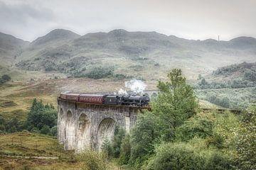Harry Potter trein - Glenfinnan - Schotland van Mart Houtman