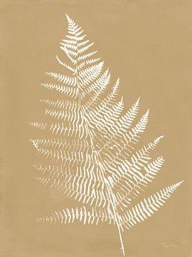 Natuur door het meer Ferns VI Brown, Piper Rhue van Wild Apple