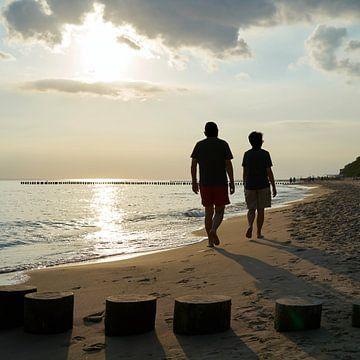 Strandwandeling van Heiko Kueverling