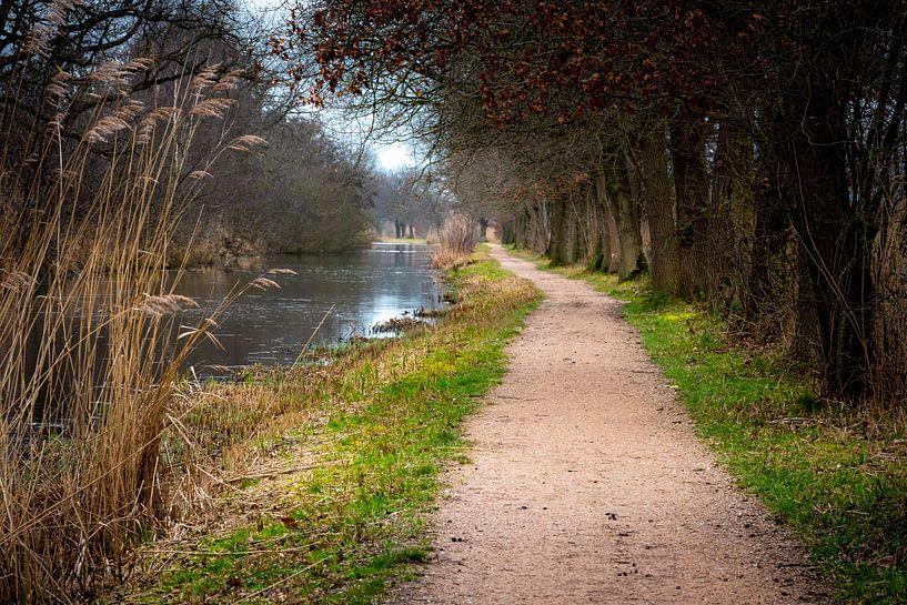 Romantischer Wanderweg in den Ankeveen-Seen von Rob IJsselstein