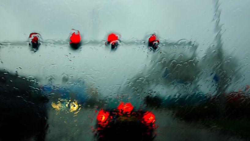 Rainy Day van Bastiaan Vogel